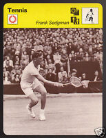 FRANK SEDGMAN Australia Tennis Player Photo 1978 SPORTSCASTER CARD 48-23A