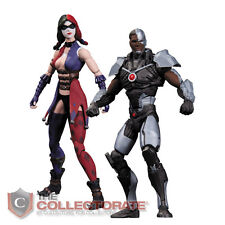 DC Collectibles INJUSTICE: CYBORG VS. HARLEY QUINN Action Figure 2-Pack *NEW*