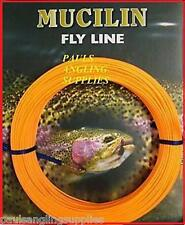 Fishing Fly Line Mucilin CA115 Orange Floating Weight Forward - All Sizes