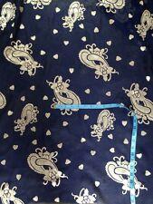 LARGE FLORAL/PAISLEY BURNOUT  DRESS CHIFFON