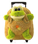 Frog Bookbag, Frog Luggage, Toddler Luggage, Frog Bag
