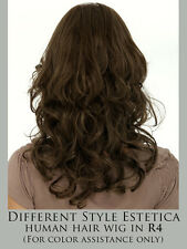 ISABEL Remy Human Hair Wig by Estetica, Double Mono Top GENUINE-NOT KNOCKOFF New