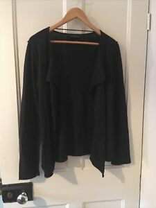 White Company Cardigan , Merino Wool And Cotton M 10 12 14 Pls See Msmts