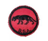 Vintage 1960s PANTHER PATROL Boy Scout  Patch Badge Red Black BSA
