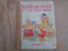 Blanche-Neige Et Les Sept Nains 1943 Disney Illustrations