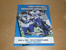 1999 UT MARTIN AT MIDDLE TENNESSEE COLLEGE FOOTBALL PROGRAM  EX-MINT
