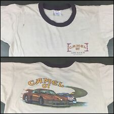 True Vintage 1982 Joe Camel GT Cigarettes Tobacco Sports Car Racing T-Shirt L