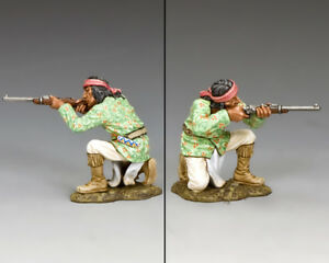 KING & COUNTRY THE REAL WEST TRW095 APACHE KNEELING FIRING CARBINE MIB