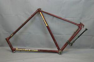 1980 Schwinn World Vintage Touring Road Bike Frame 63cm XLarge Steel USA Charity