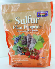 NEW BONIDE 142 4LB Bag Sulfur Plant Fungicide Powder Micronized Spray Or Dust
