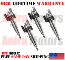 NEW 4 PIECES OEM Siemens Fuel Injectors for 2009-2010 BMW Z4 2.5L i4 - INDEX 12