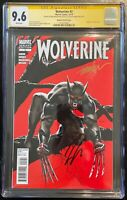 WOLVERINE #2 2010 VAMPIRE VARIANT COVER CGC SS 9.6 NM+ SIGNED X2 MAYHEW AARON