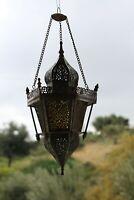 Antique Rare ottoman Brass Lantern Islamic Mosque Hanging Pendant Chandelier