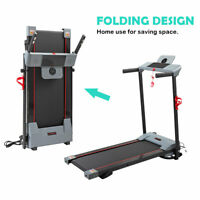 Folding Electric Motorized Treadmill Portable Running Fitness Machine Gym