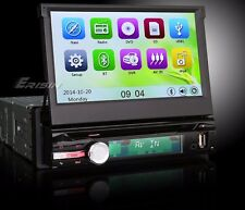 "AUTORADIO 7"" Touch Screen GPS UNIVERSALE 1 DIN HD 3G USB SD NAVIGATORE DVD"