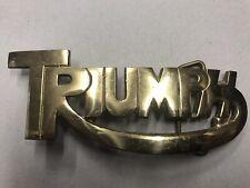 'TRIUMPH ' Belt Buckle  Solid Brass Bergamont Buckle Vintage Original