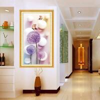 DIY 5D Dandelion Diamond Sticker Cross Stitch Painting Home Decor