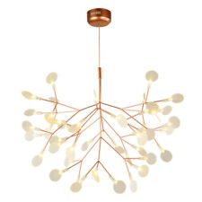 Modern Plant Pendant Light LED Chandelier Lighting Branch Ceiling Lamp Fixtures