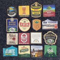 Home Bar Home Pub Beer Coasters 16 Beer Mats Pack