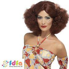 Smiffys 1970s Theme Costume Wigs & Facial Hair