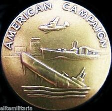 WW2 U.S. AMERICAN CAMPAIGN MEDAL FOR FIGHTING JAPANESE & GERMAN FORCES ORDER