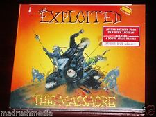 The Exploited: The Massacre - Deluxe Edition CD 2014 Bonus Tracks NB Digipak NEW