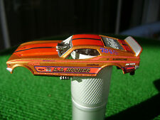 Auto World NHRA Legends L.A Hooker Ford Mustang HO SlotCar Body Fit AW 4 Gear