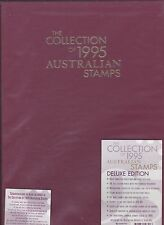 THE COLLECTION OF 1995 AUSTRALIAN STAMPS - NEW as issued by AP - UNOPENED