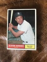 *** 1961 TOPPS #490 ELSTON HOWARD NEW YORK YANKEES— TOUGH ISSUE💥***