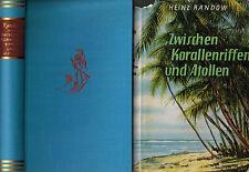 Heinz Randow, Val. FUT CORALLO riff U Atoll, con la orplid V Ceylon Z Maldive, 1965
