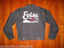 $455 EVISU 507 XX 1950s STYLE JAPAN SELVEDGE PLEATED FRONT DENIM Work JACKET 3X