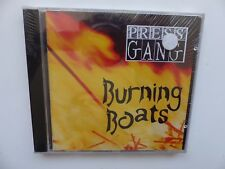 CD Album pressgang press gang bURNING BOATS  efa 80024 2  punk rock