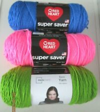 YARN..RED HEART SUPER SAVER AND MAINSTAY