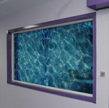 Film Water Ripple Window Decal Privacy Glass Cover Home Shower Door Bedroom