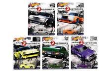 HOT WHEELS 1:64 CAR CULTURE 2018 CASE A JAPAN HISTORICS 2 FPY86-956A 5 Cars Set