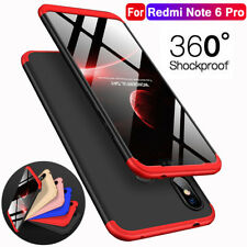 Hülle für Xiaomi Redmi Note 6 5 Pro Full Cover 360° Grad Handy Schutz Slim Case