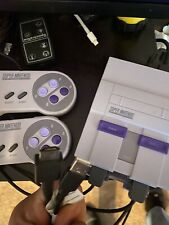 New listing Snes Classic Mini Console with 21 Games Super Nintendo Classic!