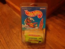 1997 HOT WHEELS--VAN DE KAMP'S--GREEN VW BUS (NEW) LIMITED EDITION