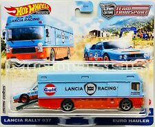 Hot Wheels 2021 Car Culture Team Transport Lancia Rally 037 In Stock