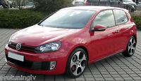 GTI SIDE SKIRTS FOR VW Golf MK 6 SIDESKIRTS SILL COVERS GT spoiler skirt R