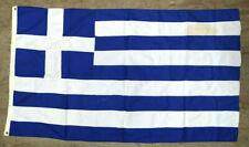 Greece Vintage Greek Cotton Flag 135x78cm Made by Elias Coconis