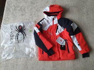 Boy's Spyder Ski Jacket 7-8 Years NWT