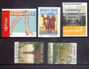 BELGIUM imperf stamps MNH