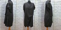 Hush Black Gathered Loose Dress Tunic Waist  Dress  UK 14