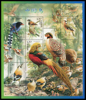 China Stamp 2008-4 Birds of China 中国鸟 Mini Sheet S/S MNH