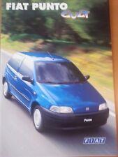 Fiat Punto Cult, 04/1998, 6 Seiten + 6 S. technik/Ausstattung