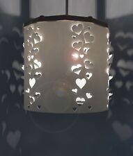 Hearts cut out Lampshade pendant light shade + Ereki Magnetic Set