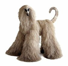 Collectibles Animals Silvery Beige Afghan Hound Cute Plush Toy Stuffed Animal