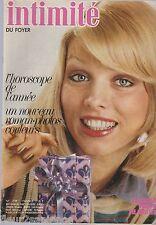 Revue Intimité N°1729 décembre 1978 roman-photo complet tricot
