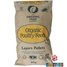 Allen & Page Organic Feed Company Layers Pellets 20kg Poultry / Chicken (AP041)